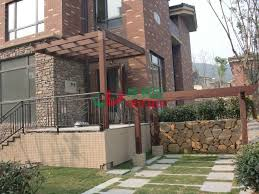 Pergola Corner Designs by Design Waterproof Corner Pergola Kits High Density Outdoor
