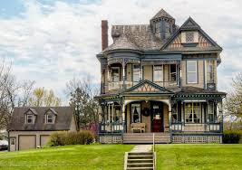 front view of queen anne victorian for sale hooked on houses