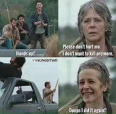 Carol Twd Meme - carol peletier memes page 13 walking dead forums