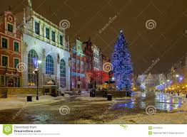 christmas in gdansk stock images image 34133324