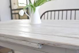 first chop white wash kitchen table