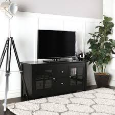 Tv Table Furniture Design With Wood Amazon Com Walker Edison 53