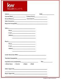 Estate Deal Sheet Template Realestate Client Information Template All About Estate