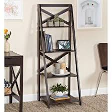 Book Or Magazine Ladder Shelf by Best 25 Leaning Ladder Shelf Ideas On Pinterest Ladder Bookcase