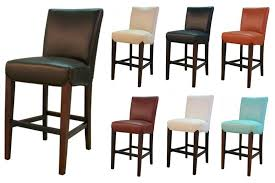 innovative leather kitchen stools slope leather bar counter stools