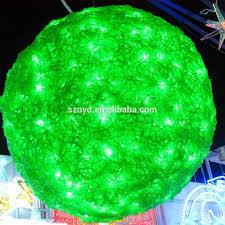 christmas light balls outdoors sacharoff decoration