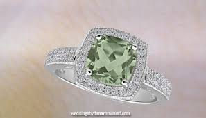 green amethyst engagement ring green amethyst engagement ring to treat yourfiancée to be like a