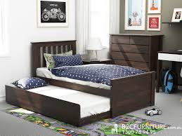 Single Bed Frame With Trundle Bedroom Bed With Mattress Low To The Ground Bed