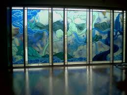 wall coverings lobby graphics interiors custom wallpaper currier museum wall mural back lit