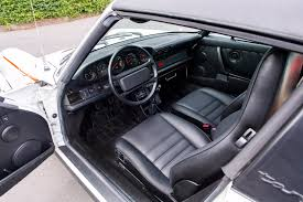 porsche carrera interior interior porsche 911 carrera 3 2 targa rijkspolitie 911 u00271984 u201389