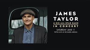 james taylor u0026 his all star band rogers arena