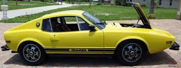 Classic Sports Cars - saab sonett iii vintage classic sports car