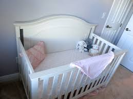 Off White Baby Crib by House Of Hayes The Big Nursery Reveal