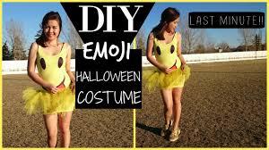 diy halloween costume emoji diy tutu youtube