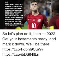 Usa Soccer Memes - theplayers tribune i just want every usa soccer fan reading this to