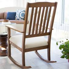 Espresso Rocking Chair Nursery Belham Living Upholstered Mission Wood Nursery Rocker Weathered
