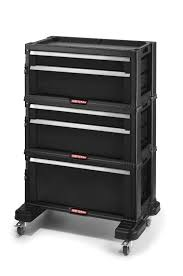Rolling Storage Cabinet Portable Tool Chest Rolling Toolbox Storage Cabinet Sliding