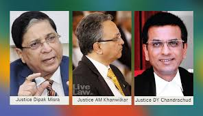 Allahabad High Court Lucknow Bench Judges Lucknow Medical College Case Cji Dipak Misra U0027s Bench Says