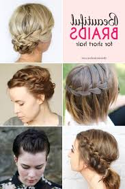braided hairstyles for short hair step by step hairstyle picture