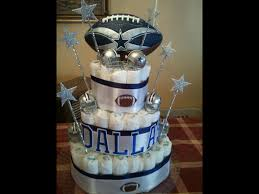 dallas cowboy diaper cake my creations pinterest cowboy