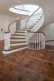 parquet traditional staircase orange county by gaetano