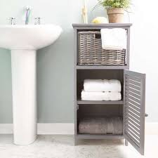 Bathroom Storage Cabinets Astonishing Grey Storage Unit Dunelm In Bathroom Cabinets Best