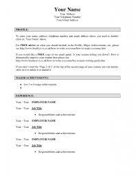 Resume Maker Online by Simple Resume Maker Resume For Your Job Application