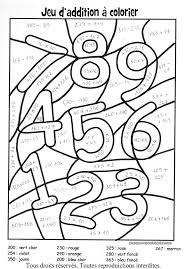 dessin magique multiplication ce1 ã imprimer