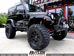 jeep rims black jeep wrangler with 17in black rhino glamis wheels exclusively from