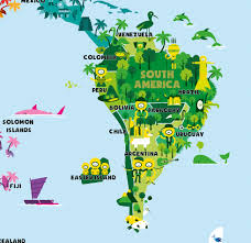 Colombia World Map by World Map On Behance