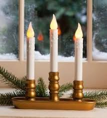 4 pack battery operated single window led window candles