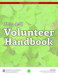 ohio 4 h volunteer handbook ohio 4 h youth development