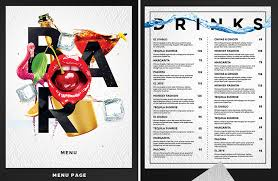 snack bar menu template 60 time saving print templates for adobe indesign photoshop