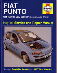 fiat punto 1999 2003 workshop manual pdf