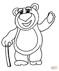 lots o huggin bear coloring page free printable coloring pages