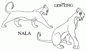 lion king holding simba coloring coloring