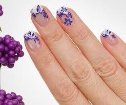 19 creative purple nail designs
