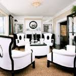 Black And White Living Room Chairs Popular With Image Of Black And - Black and white chairs living room