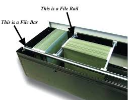 file cabinet replacement rails elegant hon replacement hanging file rails file bars old vs new