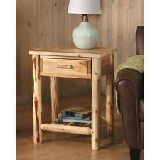 Natural Wood End Tables Wood End Tables Ebay