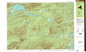 Michigan Elevation Map by New York Topo Maps 7 5 Minute Topographic Maps 1 24 000 Scale