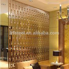Antique Room Divider by Rose Gold Stainless Steel Mirror 304 Color Metal Screen Room