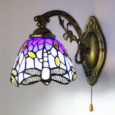 Stained Glass Wall Sconce Modern Vintage Stained Glass Wall Sconce Wall Light