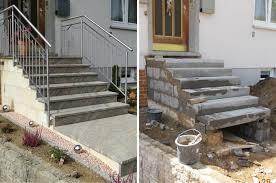 treppen im au enbereich natursteine treppe aussen steinmetzbetrieb a kerner gmbh bad