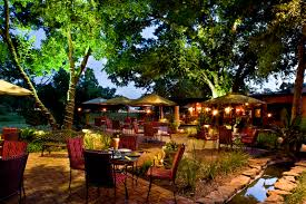 beautiful photo of an outdoor restaurant café or bar tavern at