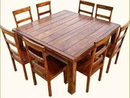 Square Dining Room Table Square Dining Room Table Seats 8 Remodel Hunt