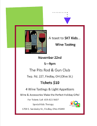 halloween city findlay ohio a toast to skt kids u2026wine tasting fundraiser special kids therapy