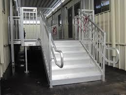 Prefabricated Aluminum Stairs by Universal Aluminum Stairs Redd Team