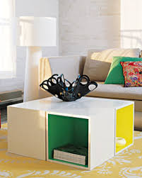 storage cube coffee table collectibles and delectables diy coffee table with a twist