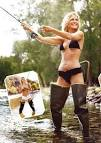 MOLLY SIMS - FLY FISHING - HIP BOOT WADERS! strangecosmos.com